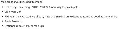 Clash Royale January February 2019 Update