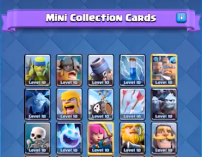 Mini Collection Gamemode Clash Royale January 2019 Update