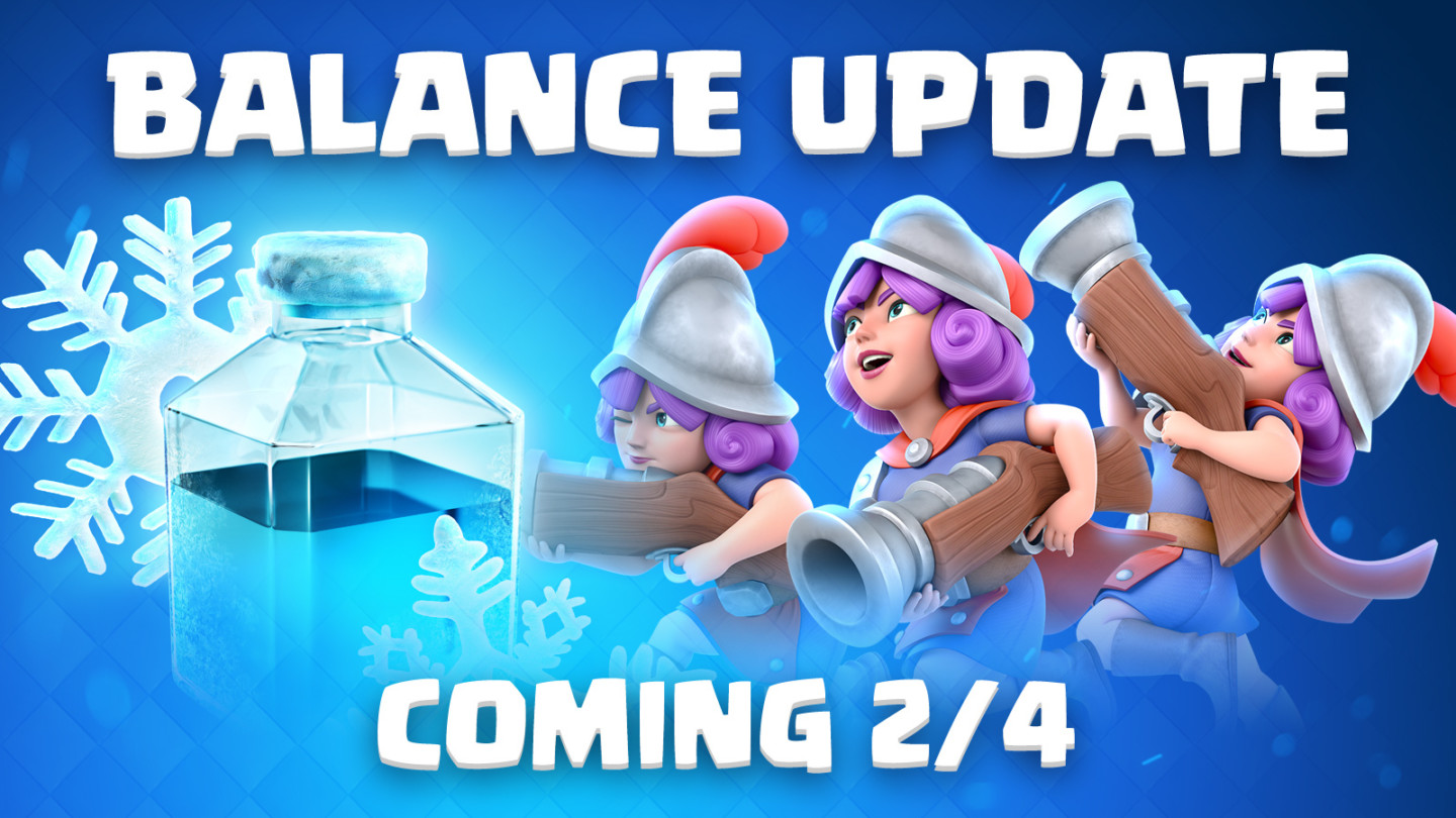 Clash Royale Balance Changes Update (February 4th, 2019)