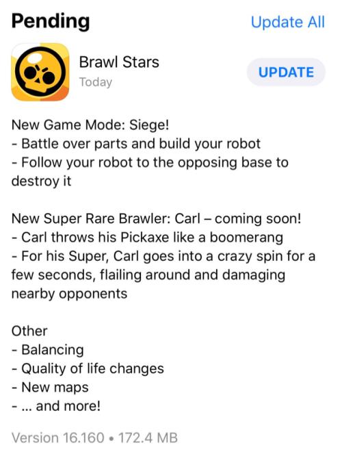 Siege New Gamemode Leaked Brawl Stars Update