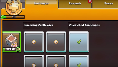 Season Challenges Clash of Clans April Update