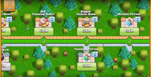 Season Challenges Rewards Clash of Clans April Update