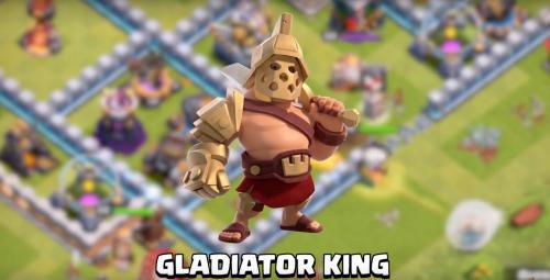 Gladiator King Skin Clash of Clans