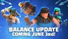 Clash Royale June Balance Changes