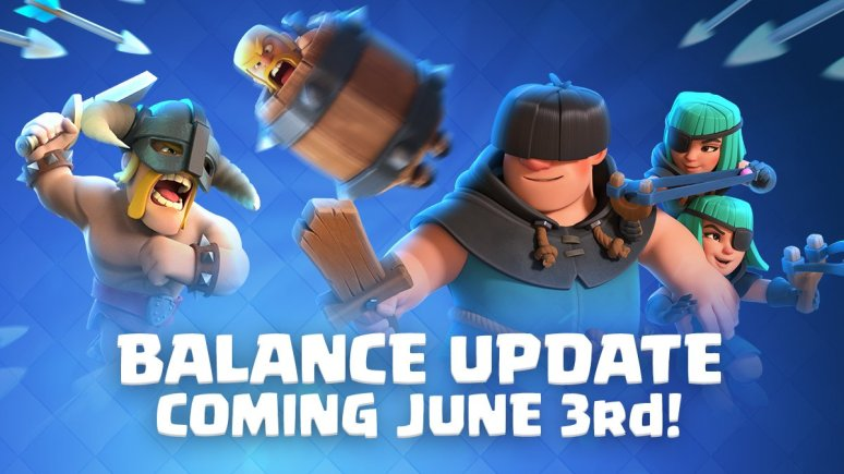 Clash Royale June Balance Changes