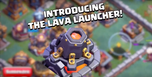 Lava Launcher BH9 Clash of Clans Update