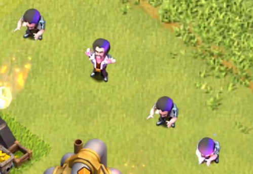 New Party Wizard Troop Clash of Clans