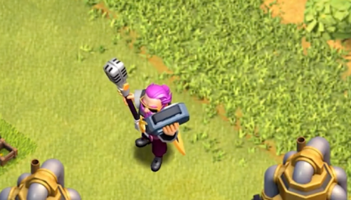 New Party Warden Skin Clash of Clans