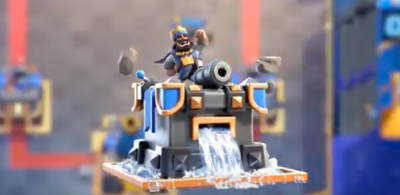 Clash Royale Fortress Tower Skin Update
