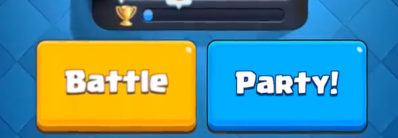 Clash Royale Party Button Update