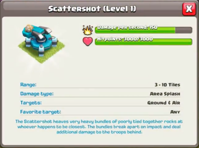 Scattershot Statistics Clash of Clans Update