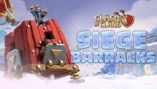 Siege Barracks Clash of Clans December Update
